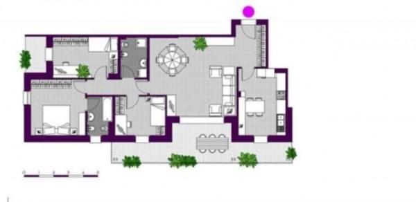 Appartamento in vendita a Milano, Ripamonti - Periferia, Con giardino, 147 mq - Foto 7