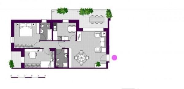 Appartamento in vendita a Milano, Ripamonti - Periferia, Con giardino, 147 mq - Foto 4