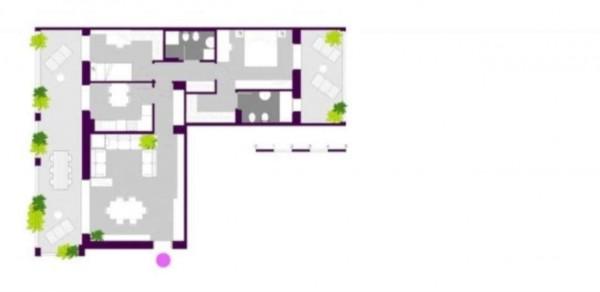 Appartamento in vendita a Milano, Ripamonti - Periferia, Con giardino, 147 mq - Foto 3