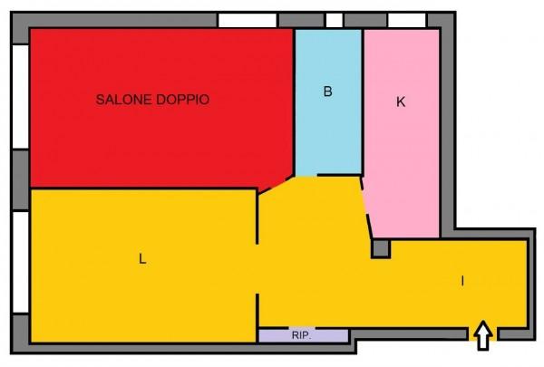 Appartamento in vendita a Roma, Colli Albani, Con giardino, 85 mq - Foto 2
