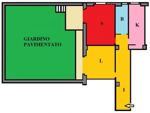 Appartamento in vendita a Roma, Giulio Agricola, Con giardino, 75 mq - Foto 3