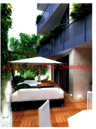 Appartamento in vendita a Milano, Moscova, Con giardino, 127 mq