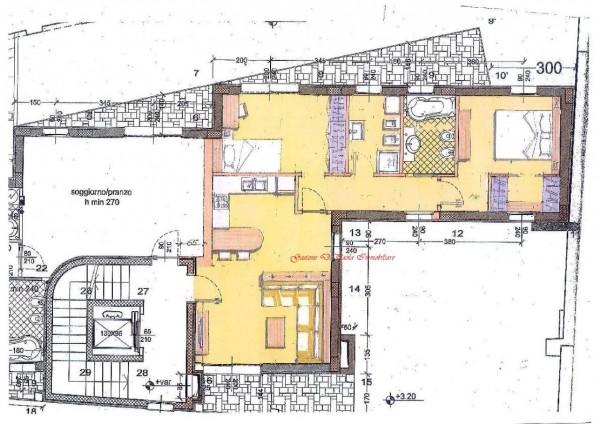Appartamento in vendita a Milano, Moscova, Con giardino, 104 mq - Foto 3