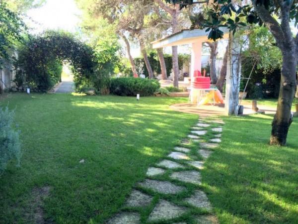Villa in vendita a Lecce, San Cataldo, Con giardino, 210 mq