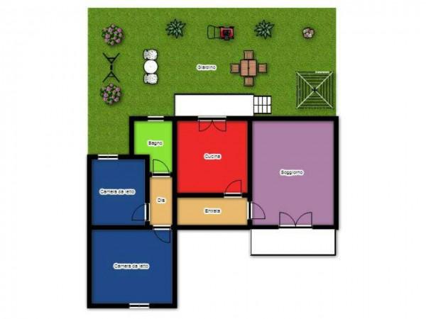 Casa indipendente in vendita a Lecce, Santa Rosa, Con giardino, 100 mq - Foto 2
