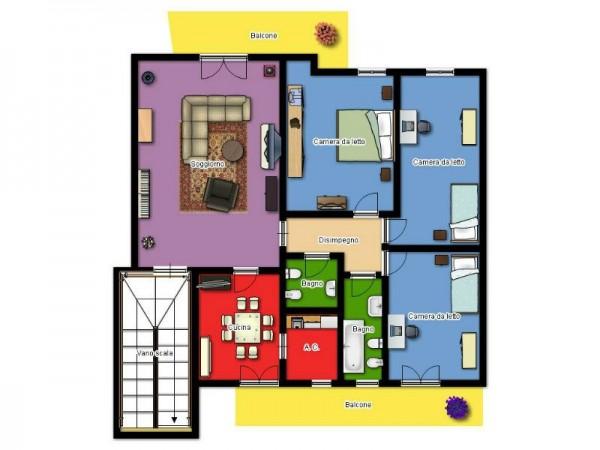 Appartamento in vendita a Lecce, Via Taranto, 140 mq - Foto 2