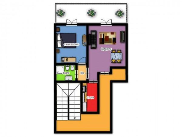 Appartamento in vendita a Lecce, Zona Via Taranto, Con giardino, 65 mq - Foto 2