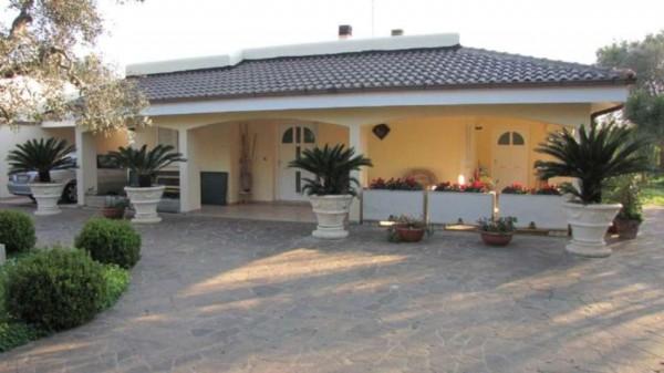 Villa in vendita a Monteroni di Lecce, Zona Monte, Con giardino, 185 mq - Foto 1