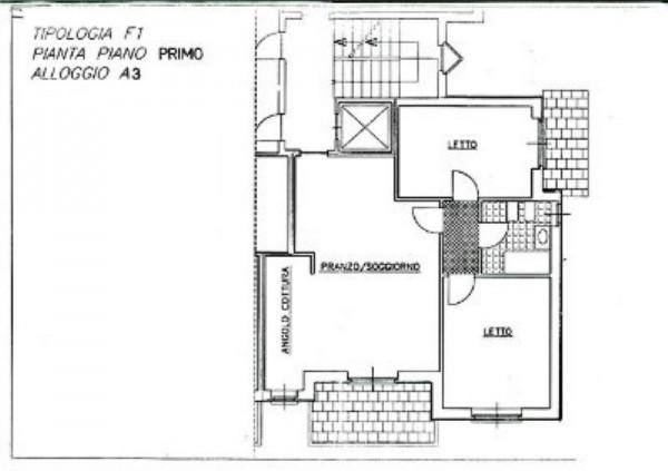 Appartamento in affitto a Borgaro Torinese, Centro, Arredato, con giardino, 90 mq - Foto 4