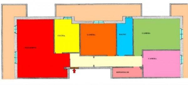 Appartamento in vendita a Casaletto Vaprio, Residenziale, Con giardino, 145 mq - Foto 2