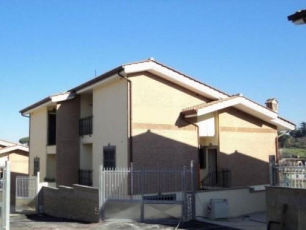 Villa in vendita a Roma, Morena, Con giardino, 200 mq