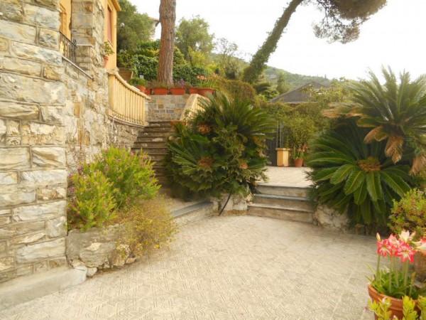Villa in vendita a Zoagli, Marina Di Bardi, Con giardino, 400 mq - Foto 16