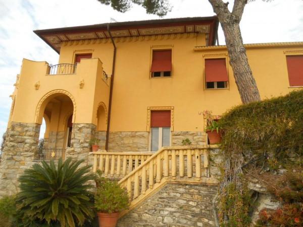 Villa in vendita a Zoagli, Marina Di Bardi, Con giardino, 400 mq - Foto 21