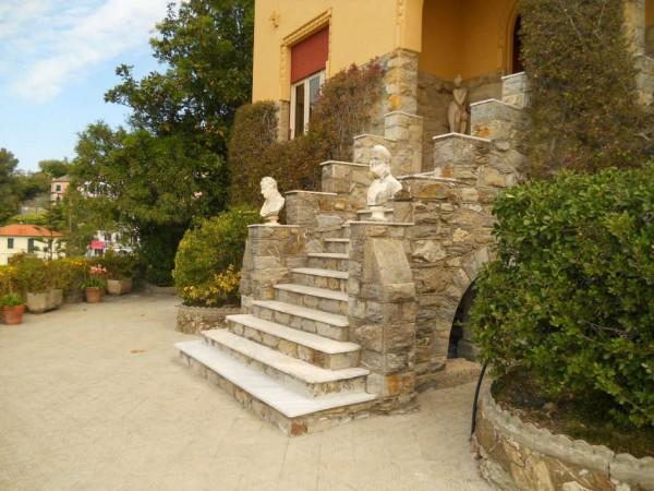 Villa in vendita a Zoagli, Marina Di Bardi, Con giardino, 400 mq - Foto 15
