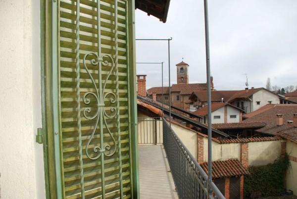 Appartamento in affitto a Piobesi Torinese, Centralissima, Con giardino, 75 mq - Foto 7