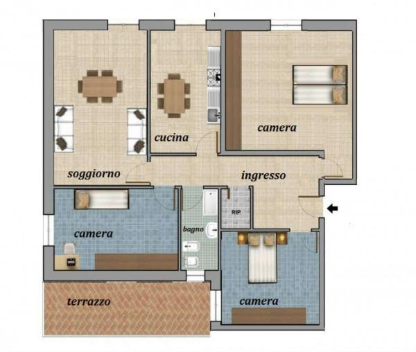 Appartamento in vendita a Genova, Sestri Ponente, 120 mq - Foto 1