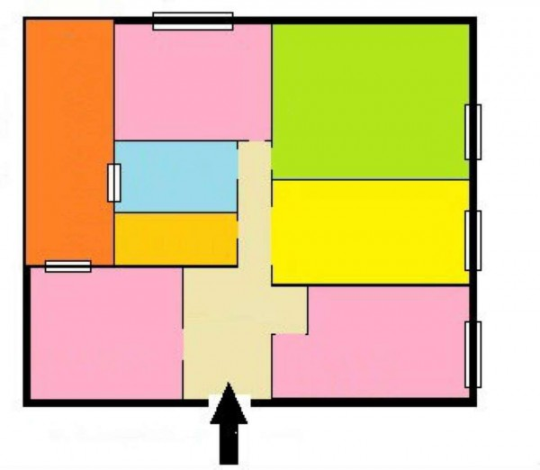 Appartamento in vendita a Genova, Sestri Ponente, 120 mq - Foto 4