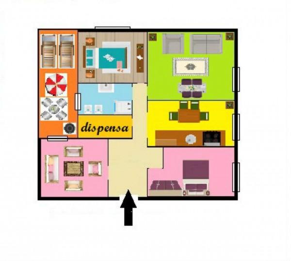 Appartamento in vendita a Genova, Sestri Ponente, 120 mq - Foto 3