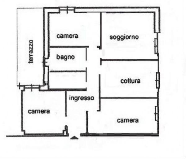 Appartamento in vendita a Genova, Sestri Ponente, 120 mq - Foto 2