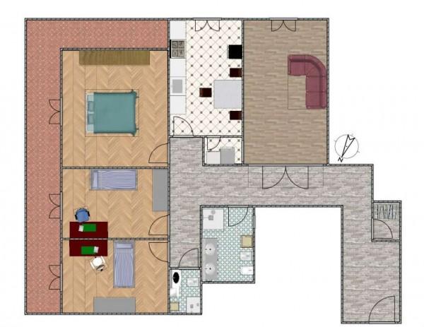 Appartamento in vendita a Genova, Sestri Ponente, 125 mq - Foto 6