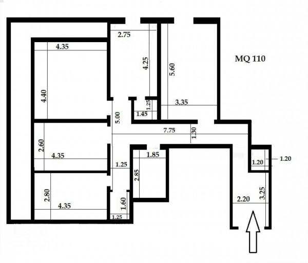 Appartamento in vendita a Genova, Sestri Ponente, 125 mq - Foto 4