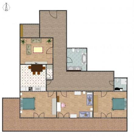 Appartamento in vendita a Genova, Sestri Ponente, 125 mq - Foto 5