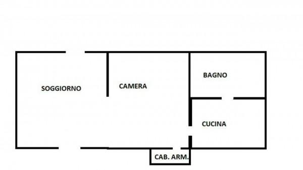 Appartamento in affitto a Roma, Repubblica, Arredato, 50 mq - Foto 2