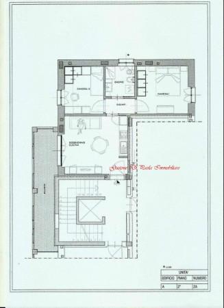 Appartamento in vendita a Milano, Precotto, Con giardino, 72 mq - Foto 2