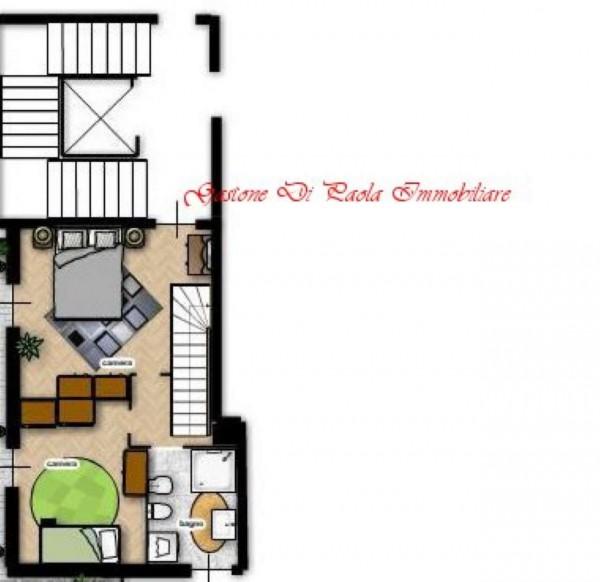 Appartamento in vendita a Milano, Precotto, Con giardino, 72 mq - Foto 5
