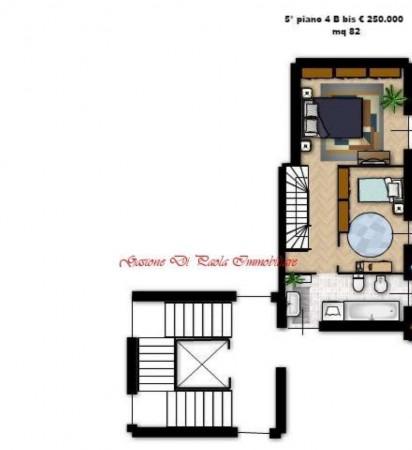 Appartamento in vendita a Milano, Precotto, Con giardino, 90 mq - Foto 6