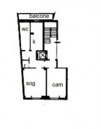 Immobile in affitto a Milano, Vicinanze Bocconi, Arredato, 80 mq - Foto 2