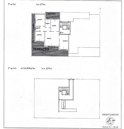Appartamento in affitto a Bernareggio, Con giardino, 115 mq - Foto 2
