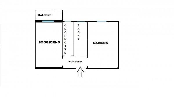 Appartamento in vendita a Milano, Con giardino, 55 mq - Foto 27