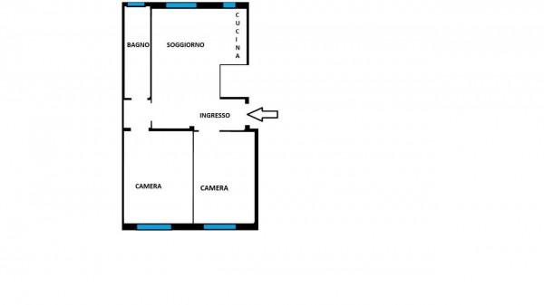 Appartamento in vendita a Milano, Con giardino, 80 mq - Foto 25