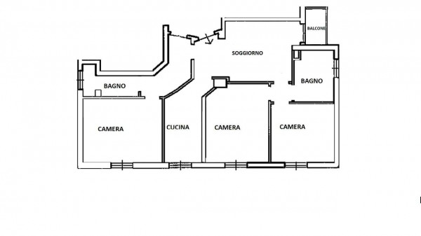 Appartamento in vendita a Milano, Con giardino, 115 mq - Foto 2