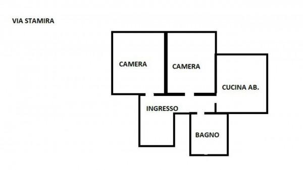 Appartamento in affitto a Roma, Bologna, Arredato, con giardino, 70 mq