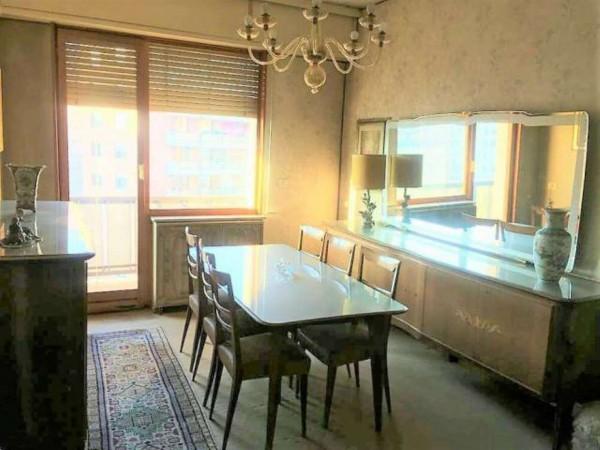 Appartamento in vendita a Torino, Centro Europa, Con giardino, 130 mq - Foto 3