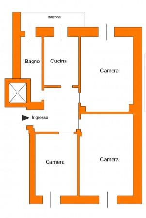 Appartamento in vendita a Torino, Crocetta, Con giardino, 85 mq - Foto 2