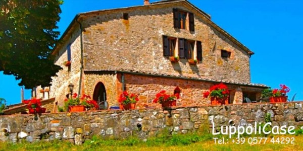 Villa in vendita a Castelnuovo Berardenga, Arredato, con giardino, 900 mq - Foto 22