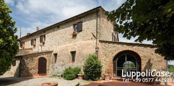 Villa in vendita a Castelnuovo Berardenga, Arredato, con giardino, 900 mq - Foto 41