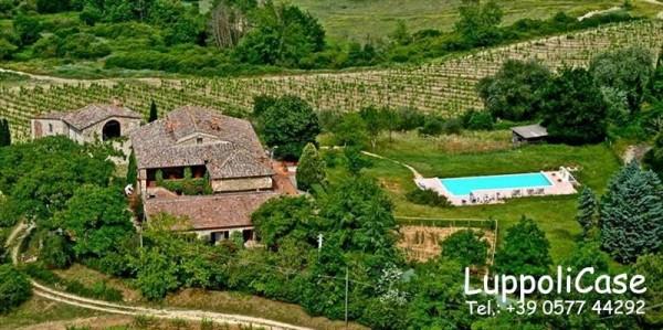 Villa in vendita a Castelnuovo Berardenga, Arredato, con giardino, 900 mq - Foto 14