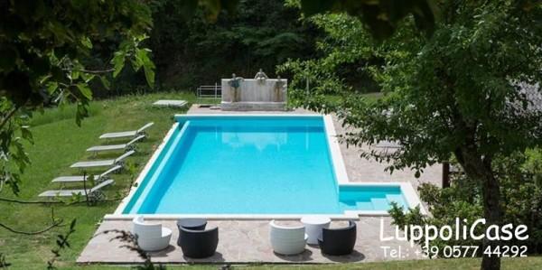 Villa in vendita a Castelnuovo Berardenga, Arredato, con giardino, 900 mq - Foto 12