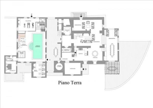 Villa in vendita a Castelnuovo Berardenga, Arredato, con giardino, 900 mq - Foto 2