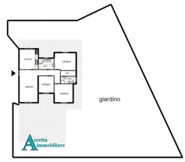 Appartamento in vendita a Taranto, Residenziale, Con giardino, 125 mq - Foto 2
