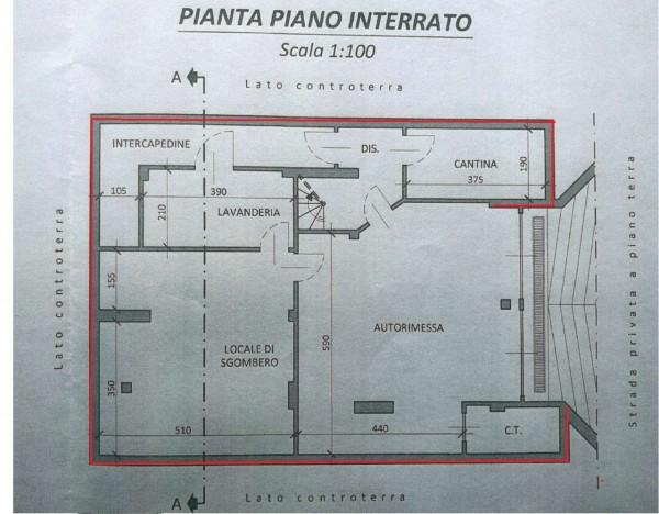 Villa in vendita a Val della Torre, Centro, Con giardino, 280 mq - Foto 3