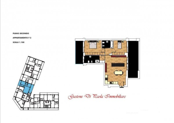 Appartamento in vendita a Milano, Portello, Con giardino, 118 mq - Foto 2