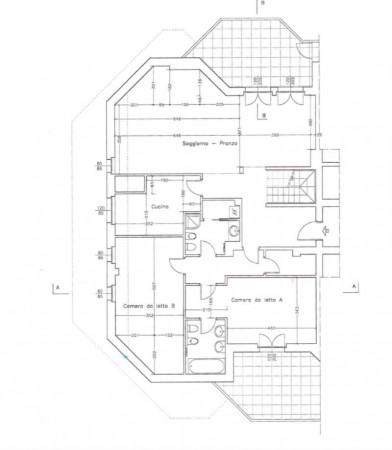 Appartamento in vendita a Milano, Pinerolo, Con giardino, 140 mq - Foto 5