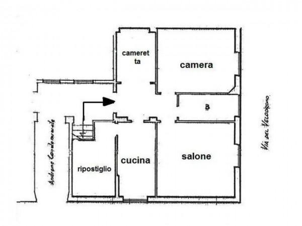 Appartamento in vendita a Roma, Colli Albani Alberone, Arredato, 75 mq - Foto 14