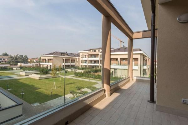 Appartamento in vendita a Cernusco sul Naviglio, Con giardino, 145 mq - Foto 19