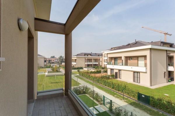Appartamento in vendita a Cernusco sul Naviglio, Con giardino, 145 mq - Foto 18